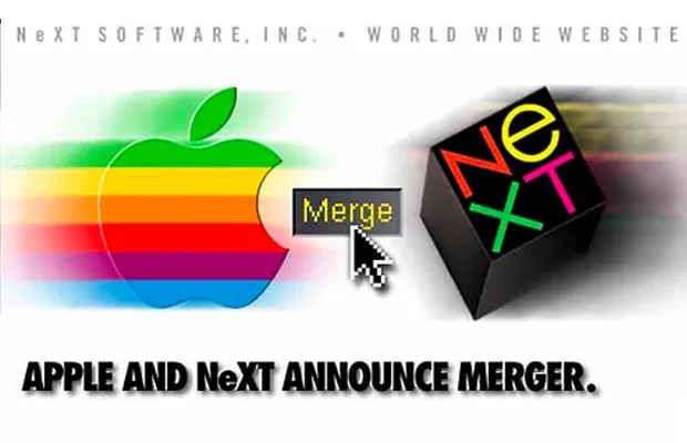 Apple and NeXT Announce Merger